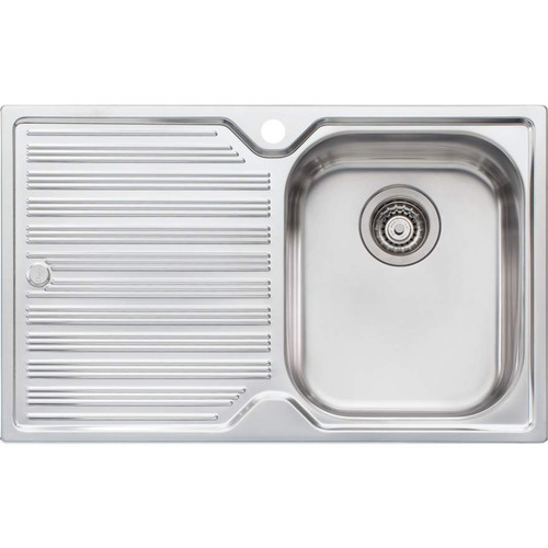 Diaz Single Bowl Topmount Sink With Drainer-1TH [112986]