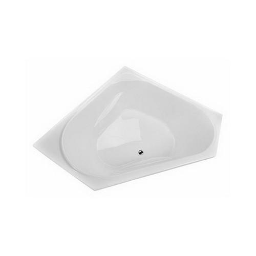 Angelique 1295mm 6 Jet Builder Inset Spa Bath Premium Sanitary Grade Acrylic High Gloss White [126401]