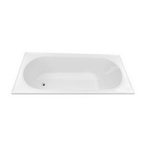 Turin 1790mm 6 Jet Builders Inset Spa Bath 153L Premium Sanitary Grade Acrylic High Gloss White [126416]
