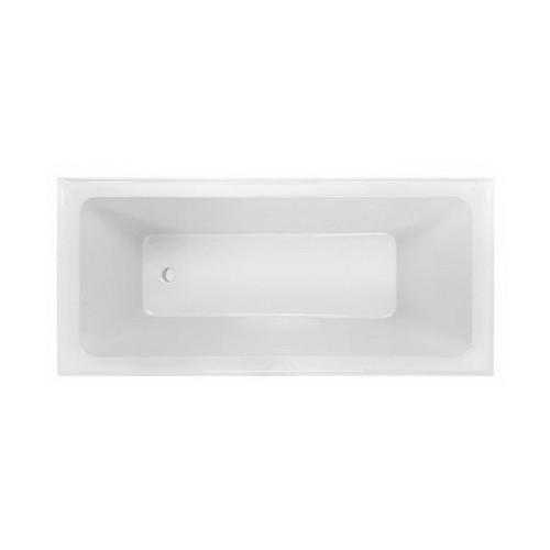 Cortez 1675mm 6 Jet Builders Spa Bath Premium Sanitary Grade Acrylic High Gloss White [126404]