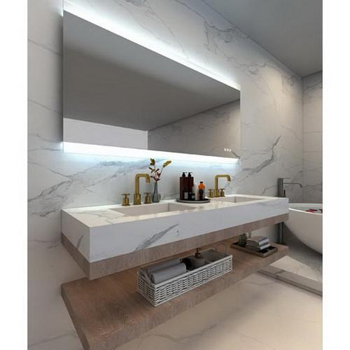 Miro 900 Premium Horizontal LED Lighting Mirror with Touch Sensor, Demister & Bluetooth Speakers [168461]