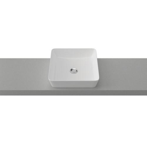 Florent 400mm Ceramic Basin Gloss White [254107]