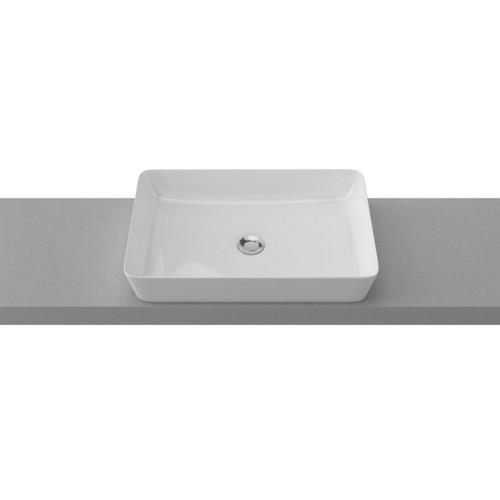 Quill 600mm Ceramic Basin Gloss White [254117]