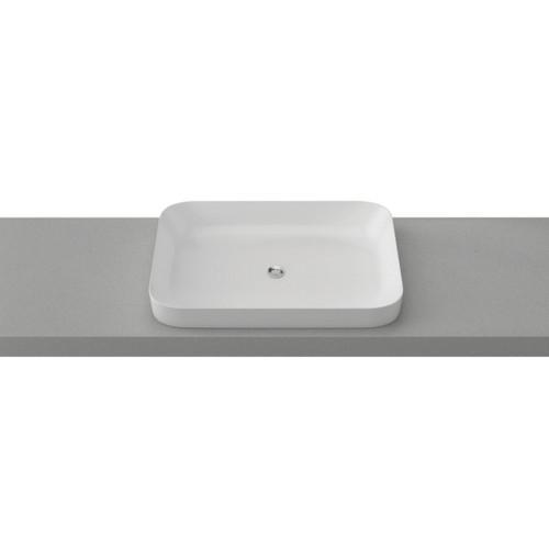 Rome 600mm Ceramic Basin Gloss White [254118]