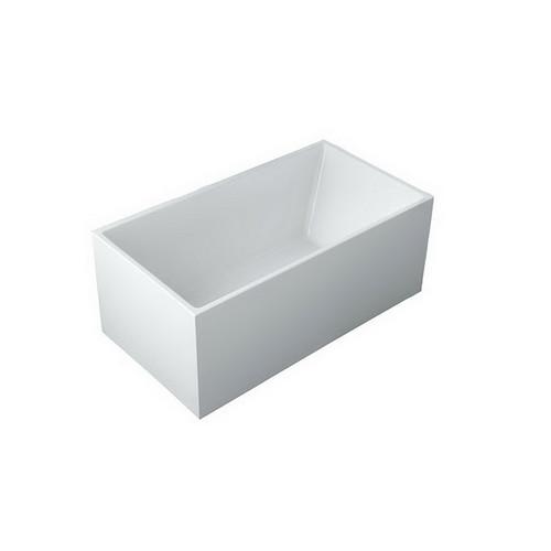 Suzana 1500 182L Freestanding Bath Premium Sanitary Grade Acrylic High Gloss White [254465]