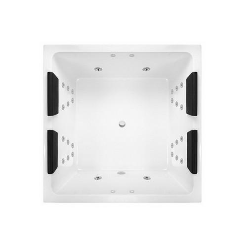 Venice 1400 372L Island Spa Bath Premium Sanitary Grade Acrylic High Gloss White [254467]