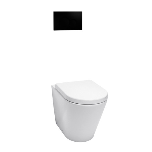Byron Wall Faced Suite Black Round Button [154600]