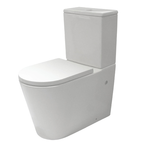 Edge II Rimless Back To Wall Edge Suite with Standard Seat [202493]