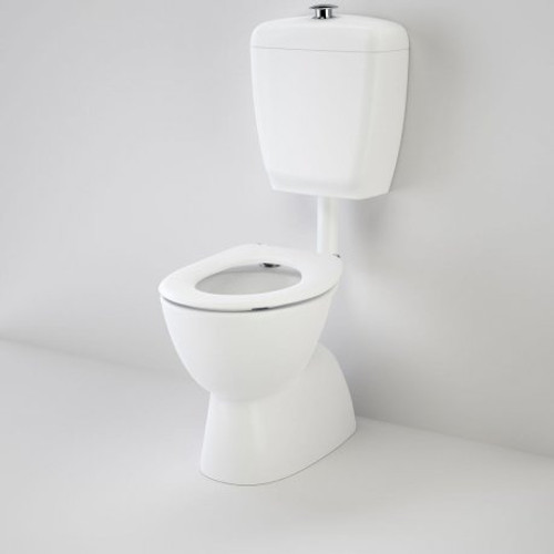 Care 400 Connector (S Trap) Suite With Caravelle Care Single Flap Seat - White [117211]