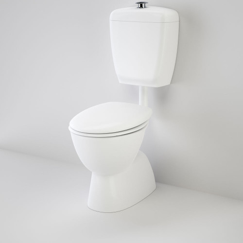 Care 400 Connector (S Trap) Suite With Caravelle Care Double Flap Seat - White [117212]