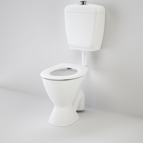 Care 300 Connector (S Trap) Suite With Caravelle Care Single Flap Seat - White [118191]