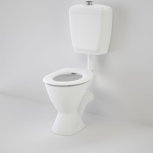 Care 300 Connector (P Trap) Suite With Caravelle Care Single Flap Seat - White [118192]