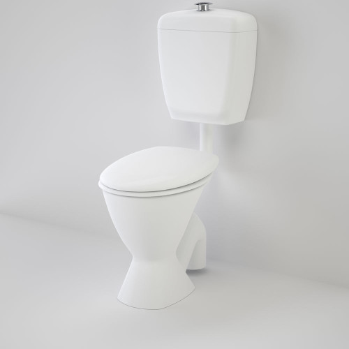 Care 300 Connector (S Trap) Suite With Caravelle Care Double Flap Seat - White [118193]