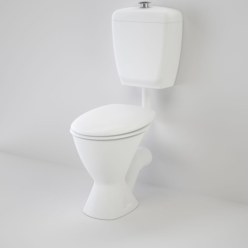 Care 300 Connector (P Trap) Suite With Caravelle Care Double Flap Seat - White [118194]