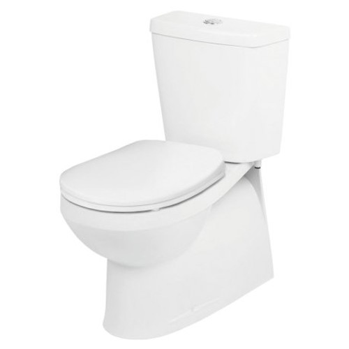 Venecia Wall Faced Close Coupled Suite - Bottom Inlet, Soft Close Seat [121604]