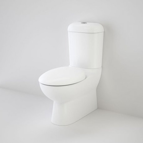 Leda Wall Faced Toilet Suite With Pedigree II Soft Close Seat [124973]