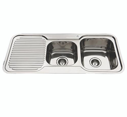 Classic Standard 1080 Rh 1.75 Bowl & Drainer-1TH [129368]