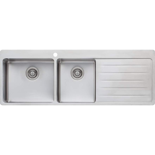 Sonetto 1 & 3/4 Bowl Topmount Sink With Drainer-1TH [129427]