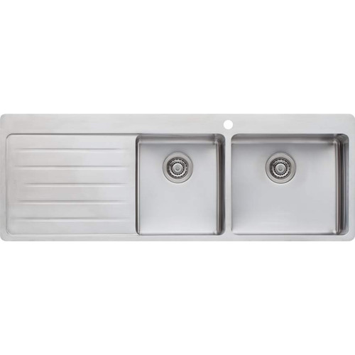 Sonetto 1 & 3/4 Bowl Topmount Sink With Drainer-1TH [129607]