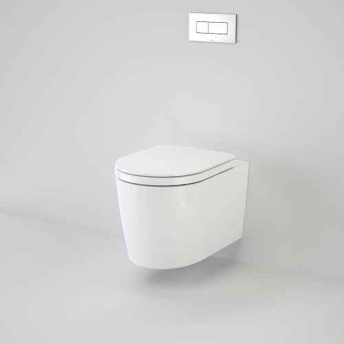 Liano Invisi Series II® Wall Hung Suite With Liano Double Flap Seat (Induct, Inceiling, Inwall) [133471]