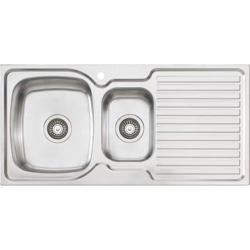 Endeavour 1 & 1/2 Bowl Topmount Sink With Drainer-1TH [134033]
