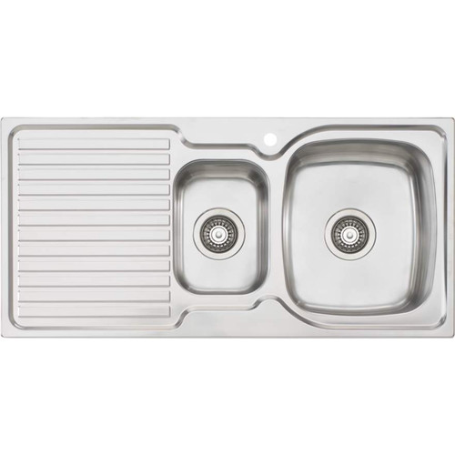 Endeavour 1 & 1/2 Bowl Topmount Sink With Drainer-1TH [134034]