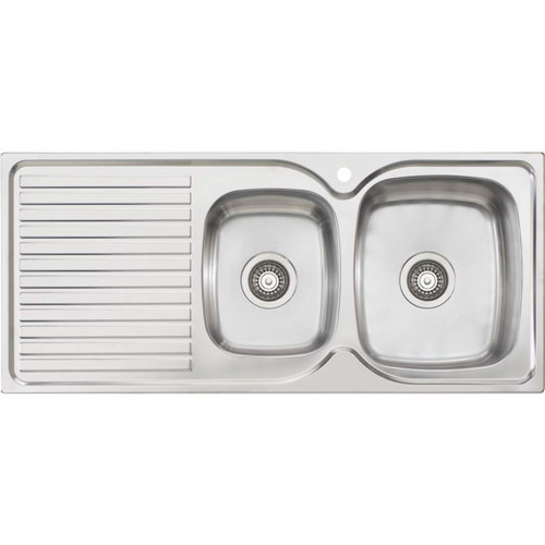 Endeavour 1 & 3/4 Bowl Topmount Sink With Drainer-1TH [134037]