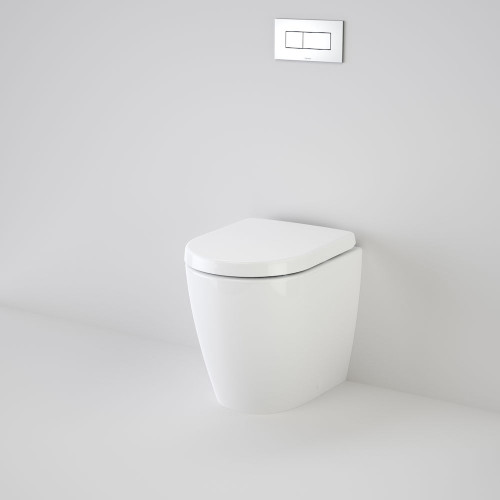 Urbane Compact Invisi Series II® Wall Faced Suite With Urbane Compact Sc Qr Seat [134653]