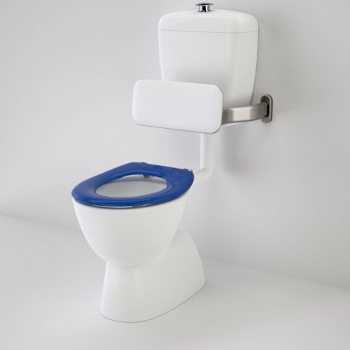 Care 400 Connector (S Trap) Suite With Backrest And Caravelle Care Single Flap Seat - Sorrento Blue [136058]