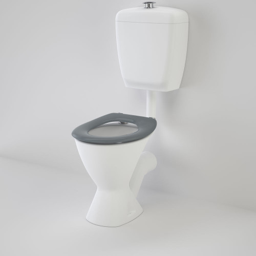 Care 300 Connector (P Trap) Suite With Caravelle Care Single Flap Seat - Anthracite Grey [136240]