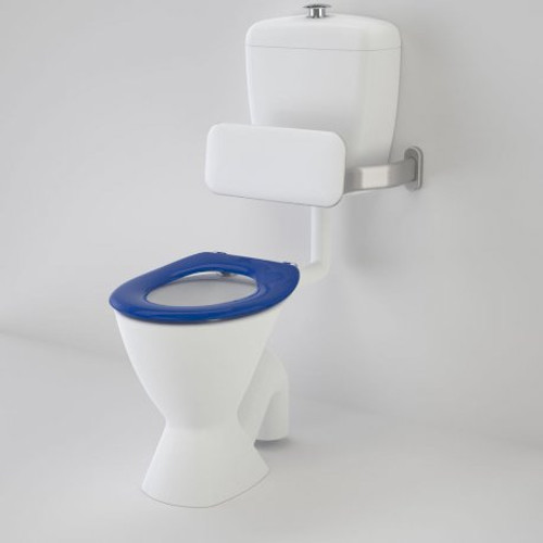 Care 300 Connector (P Trap) Suite With Backrest And Caravelle Care Single Flap Seat - Sorrento Blue [136242]