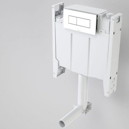 Invisi Series II® Cistern + Bracket - Undercounter - Wh Pans - Dual Flush [136113]
