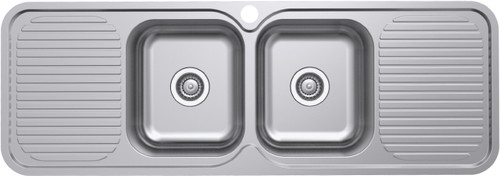 Classic Standard 1380 Rh 2 Bowl & 2 Drainer-1TH [136705]