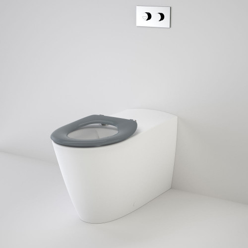 Care 800 Cleanflush® Wall Faced Invisi Series II® Toilet Suite Care Single Flap Seat [137903]