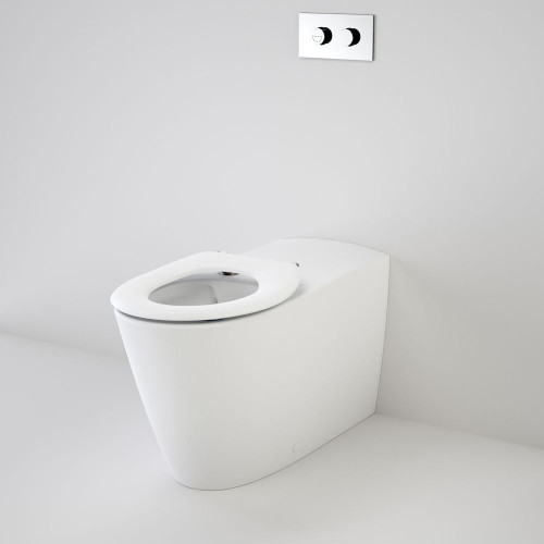 Care 800 Cleanflush® Wall Faced Invisi Series II® Toilet Suite With Caravelle Care Single Flap Seat [137909]