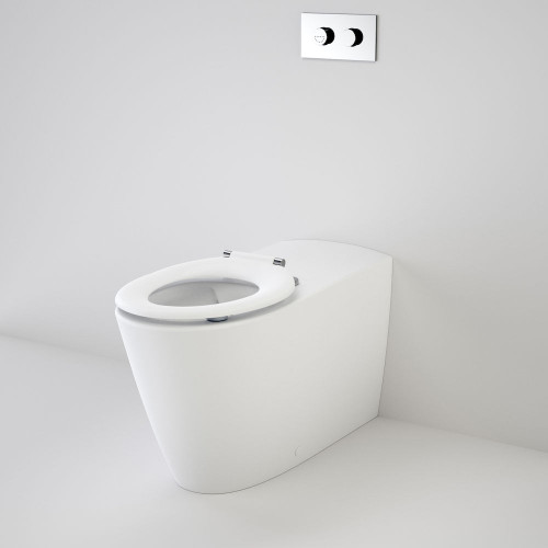 Care 800 Cleanflush® Wall Faced Invisi Series II® Toilet Suite Care Single Flap Seat [137913]