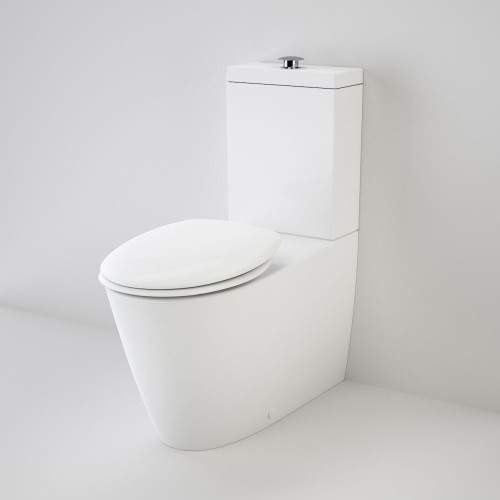 Care 800 Cleanflush® Wall Faced Toilet Suite With Double Flap Seat [137915]