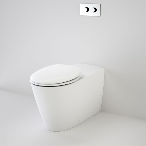 Care 800 Cleanflush® Wall Faced Invisi Series II® Toilet Suite With Double Flap Seat [137916]