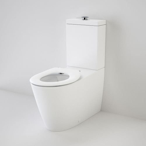 Care 800 Cleanflush® Wall Faced Toilet Suite With Caravelle Care Seat [137929]