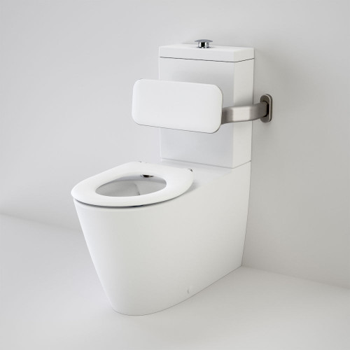 Care 800 Cleanflush® Wall Faced Suite With Backrest And Caravelle Care Single Flap Seat - White [137930]