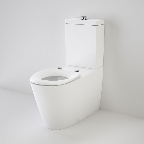 Care 800 Cleanflush® Wall Faced Toilet Suite - Pedigree II Care Sf Wh [137933]