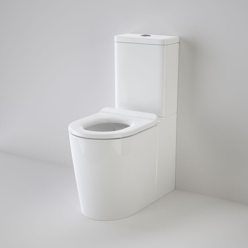 Liano Cleanflush® Easy Height Wall Faced Suite With Liano Care Single Flap Seat - White [137946]