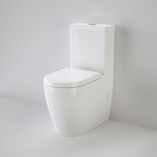 Urbane Cleanflush® Wall Faced Toilet Suite - Bottom Inlet, Soft Close Seat [138691]