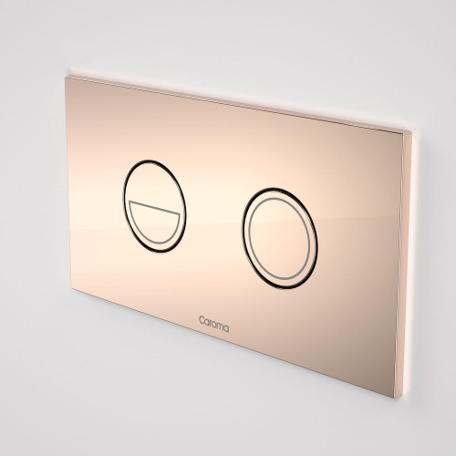 Invisi Series II® Round Dual Flush Plate & Buttons (Metal) Bronze [138970]