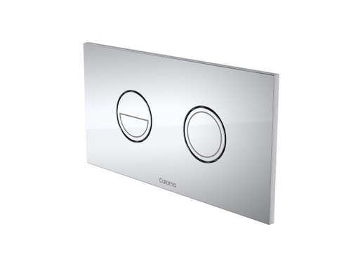 Invisi Series II® Round Dual Flush Plate & Buttons - Chrome [138971]