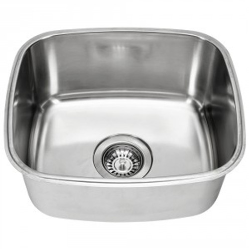 Essential Single Undermount Sink-NTH [139364]