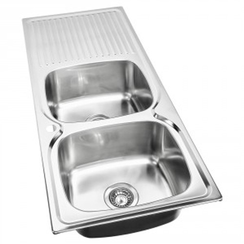 Essential Double Bowl Sink-1TH [139371]