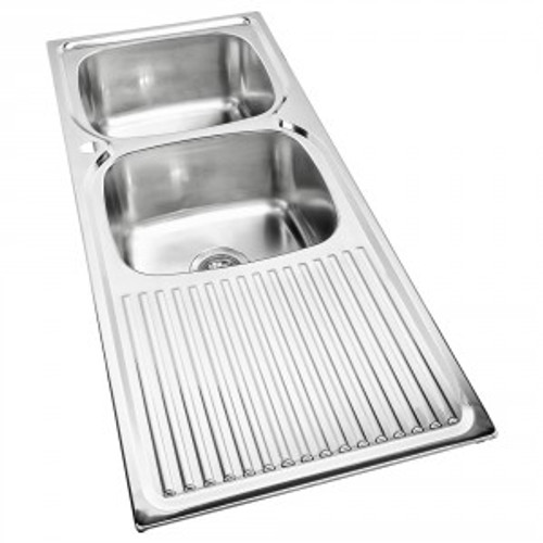 Essential Double Bowl Sink-1TH [139372]