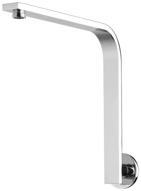 Vivid Slimline High-Rise Shower Arm Round Plate [151875]