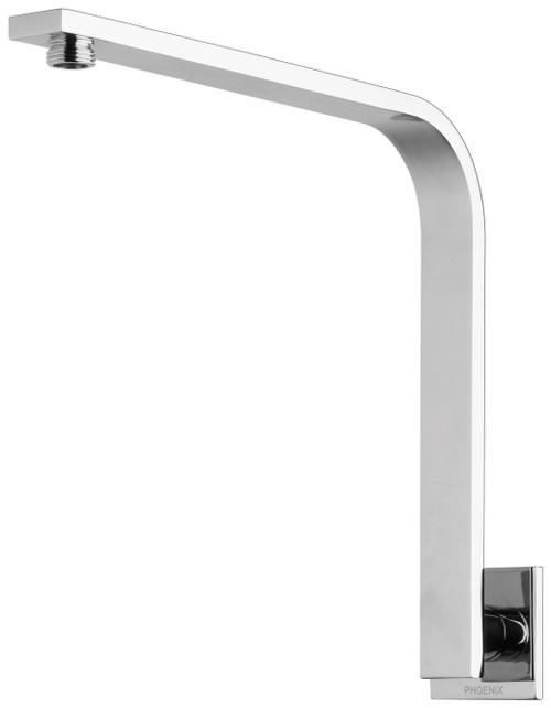 Vivid Slimline High-Rise Shower Arm Square Plate [151876]